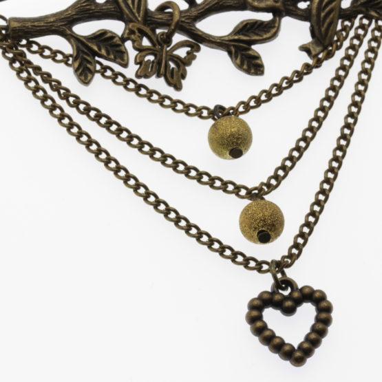 Alfinete de peito bronze