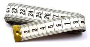 Medidas das pulseiras