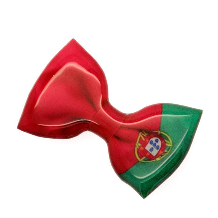 Íman bandeira de Portugal em laço