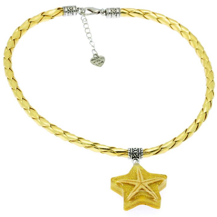 Colar com estrela do mar