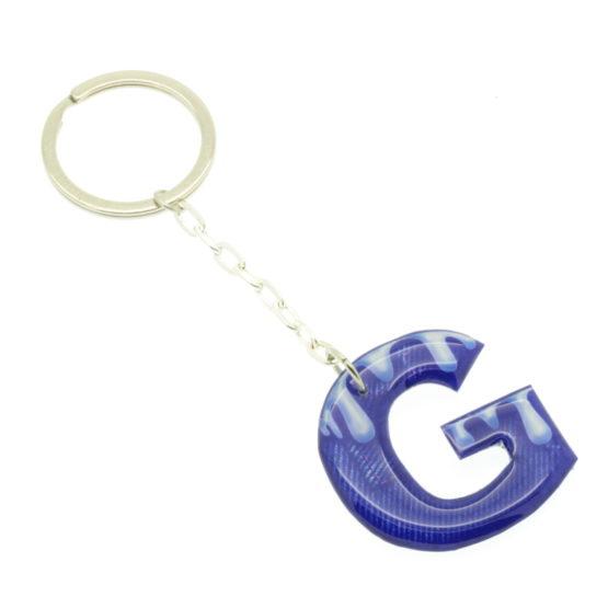 Porta-chaves aspecto ganga - letras