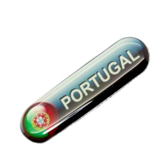 Íman Portugal com bandeira