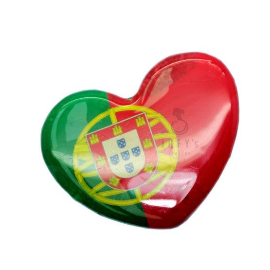Íman Coração bandeira de Portugal