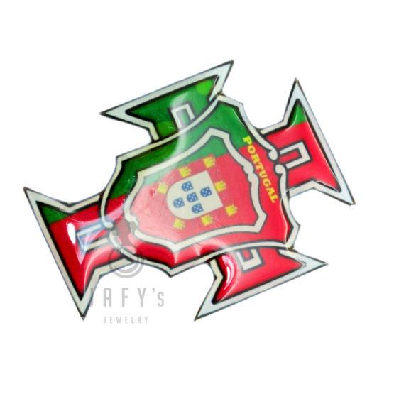 Íman Cruz bandeira de Portugal